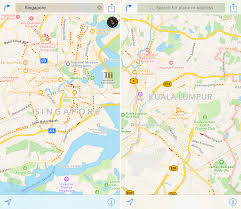 apple maps traffic data expands to singapore and malaysia  mac rumors
