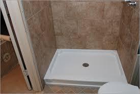 replace fiberglass shower with tile tile design ideas replace shower pan with tile cost