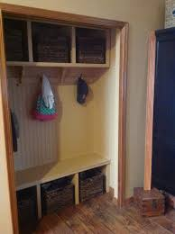 Mudroom Cubbies Plans Ana White Closet Mud Room Diy Projects