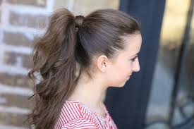 Pretty Girl Hair Style how to get the perfect ponytail hairstyle tips cute girls 5728 by wearticles.com