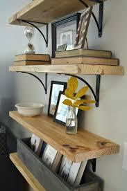 diy wood shelves wooden shelf brackets garage shelving plans kitchen