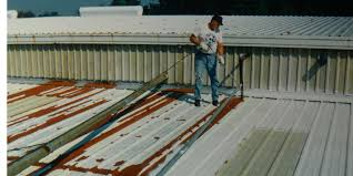 best roofing materials to fix rusty metal roofing