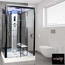 850mm rectangular steam shower