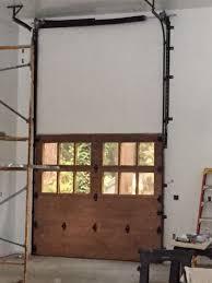 high lift garage doorHigh Lift Garage Door  Sierra Nevada Overhead Door