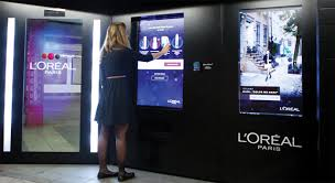 Interactive Vending Machines Classy L'Oréal Paris Brings Interactive Vending Machine To NYC Subway Station