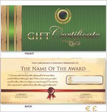 Free Gift Certificate Template Download Awesome Gift Certificate Template Free Vector Download 4848 Free Vector