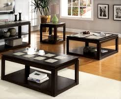 coffee table coffee table terrific espresso set square architectural inspired dark remarkable balckish brown rectangle rustic full size of