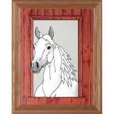 picture 1 of 1 on horse silhouette wall art with black horse silhouette stained glass wall art ebay
