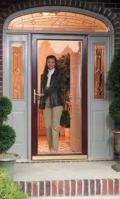 front storm doorsCertified Builders Wholesale  Larson Storm Doors