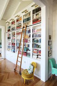creating a home library thats smart and pretty built home library
