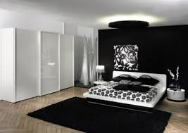 Bedroom Black And White Bedroom Ideas White Walls Medium Tone - Beige and black bedroom