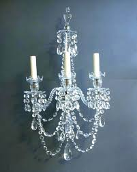 sconces crystal candle wall sconces chandelier sconce holder full size of