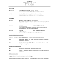 One Page Resume Template Free One Page Resume Template Free Fred