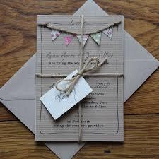 best 25 handmade wedding invitations ideas only on pinterest Easy Handmade Wedding Invitations bunting wedding invitations must be fete easy diy wedding invitations