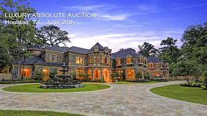 luxury houston texas mansion by absolute auction