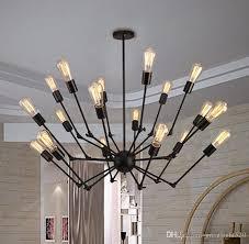 edison style lighting fixtures. Adjustable Spyder Chandelier Vintage Edison Light Ceiling Pendant Retro Style Lighting Fixture 6/8/12/18 Heads #16 Modern Hanging Fixtures N