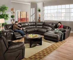 fabulous brown leather sectional with recliners 17 best ideas about leather sectional sofas on leather