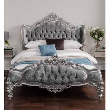 Silver Shabby Chic Bedroom Furniture Antique French Style Bed Shabby Chic Bedroom Furniture