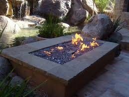 fire pits united states ibd outdoor rooms stonefire round crystal gas fire pit table 32