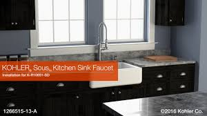 Kitchen Faucet Installation Instructions Installation Sous Kitchen Sink Faucet Youtube