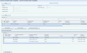 Access Order Form Template Defining Work Orders And Templates
