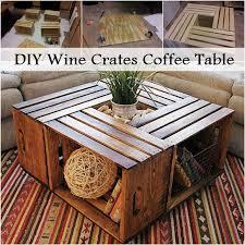 diy wine crates coffee table diy ideas by you