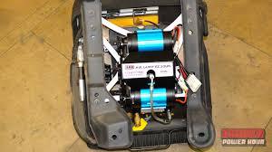 tech tools installing an arb air compressor bower power hour bower power hour arb air compressor install