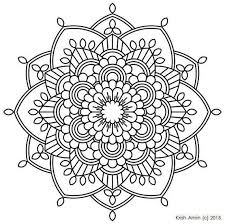 Mandala Templates To Print Free Printable Mandalas Coloring Pages