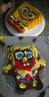 Pinterest Fail Spongebob Cake Fails Baking Fails Pinterest