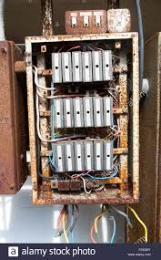 old electrical fuse box stock photo royalty image 8977864 old rusty electrical fuse box uk stock photo