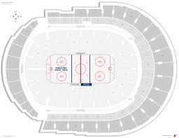 Nashville Predators Seating Guide Bridgestone Arena