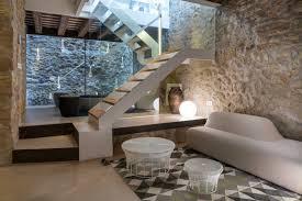 stone house furniture. a 19th century stone house on the costa brava transformed into modern retreat furniture