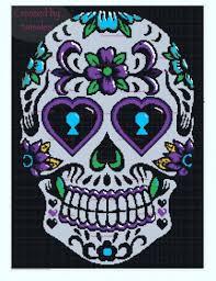 Skull Crochet Pattern Enchanting Crochet Pattern RoundUp Sugar Skull Designs Crochetville