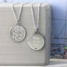 st christopher sterling silver pendant design ideas