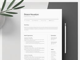 Cover Letter And Resume Templates Word Resume Cover Letter Template By Resume Templates On