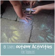 outdoor activities for preschoolers. 8 Simple Outdoor Activities For Toddlers - Happy Hooligans Preschoolers R