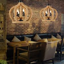 industrial look lighting fixtures. Industrial 6-Light Look Lighting Fixtures Rope B