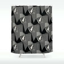 bold shower curtain curtains print
