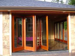 Handmade Folding Exterior Wood Window Walls By Lacey Door - Hardwood exterior doors and frames