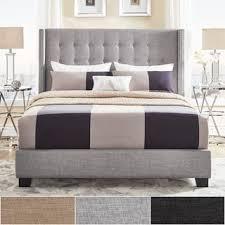Buy Grey Beds Online at Overstock.com   Our Best Bedroom Furniture Deals