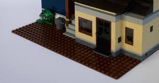 lego home office. i also forgot to photograph the reddish brown 32x32 baseplate before began building on it, but you can see plenty of it here because remains exposed at lego home office n