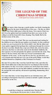 Legend of the Christmas Spider--although I hate spiders, I really like this