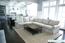 jute rug living room cleaning floor runner natural