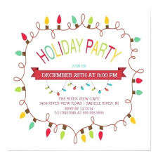 Office Party Invitation Wording Also Holiday Lunch Family Christmas