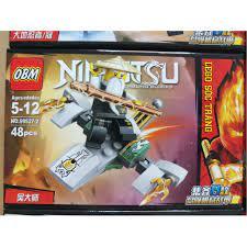 Đồ chơi lắp ráp lego ninjago season phần 11 ninja kai, jay, zane, cole nya,  sư phụ wu, rắn OBM99527 trọn bộ giảm chỉ còn 120,000 đ