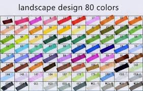 Set Of 80 Colors Touch Five Art Sketch Markers Twin Marker