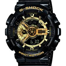 casio g shock ga110gb 1a wrist watch for men casio men s watch ga 110gb 1 black and gold limited edition