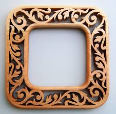 scroll saw fretwork pattern image three matching victorian fretwork picture frames by sheila