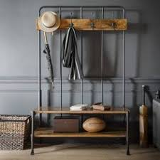 Old School Coat Rack Old School Hall Rack Bench coats Hall bench and School hall 22