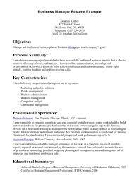 Business Resume Examples Uxhandy Com